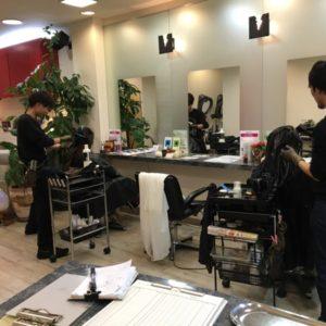 美容師1年目のカラーモデルからの撮影は練習会初の試み。