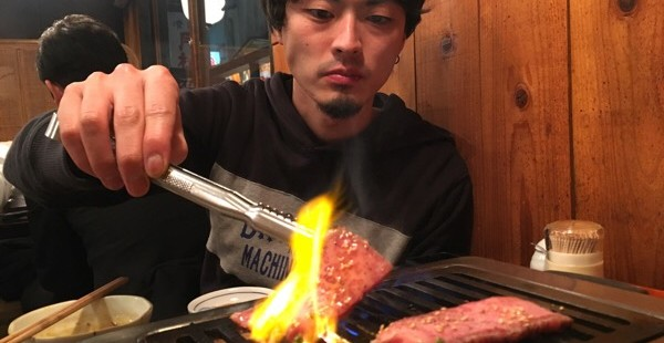 三軒茶屋で肉とヤマダ@和牛一頭流 金肉屋