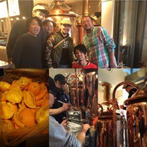 〜大人の遊び〜「オレンジ潰して」ビール作った@常陸野ブルーイング・ラボ