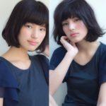 【動画あり】黒髪女子をコハラボブで表現したら。