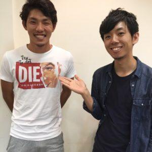 【メンズヘア】サッカー天皇杯で活躍中のHonda FC 松本和樹選手の髪