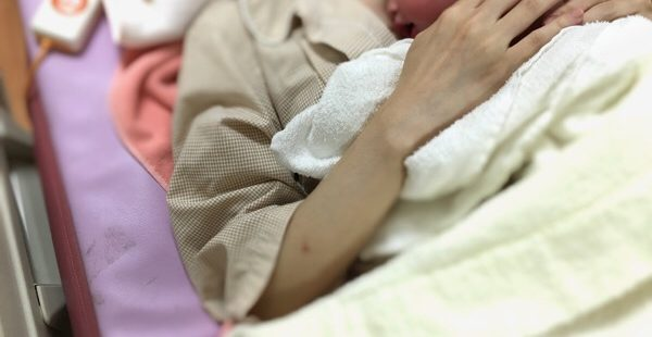 私の子供が産まれた日。
