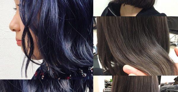【3カ月カラー変化】インディゴネイビーブルーからグレーアッシュカラーがキレイ