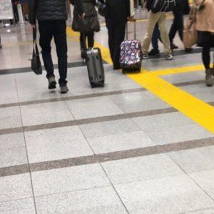 朝の大宮駅で直面したこと。