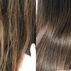 【初めての白髪染めの方へ】暗めが嫌な人にもおすすめな、白髪も染まる「明るめカラー」
