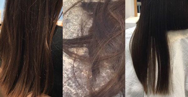 【忙しいママのヘアカタログ】色持ちダークグレーアッシュに20cmバッサリボブ