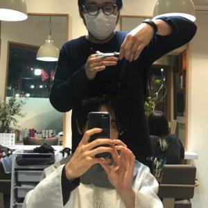 【美容師あるある】お互いの髪を切りあう