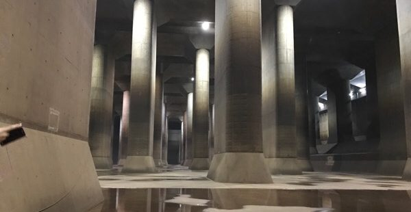 【埼玉のパルテノン神殿】首都圏外郭放水路の規模感が半端なかった