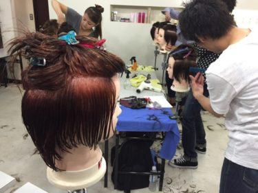 ショートヘアのパーマスタイル学んできた