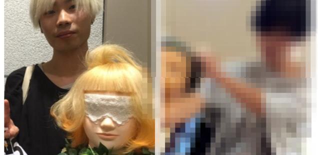 金髪人が黒髪にしたらイメージはどう変わるのか?