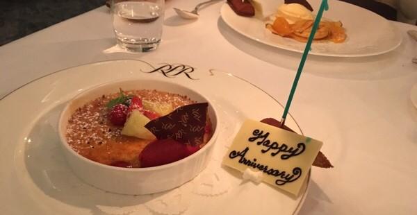 【初めての結婚記念日】浦和ロイヤルパインズホテル レストランRPRにて心地よい時間