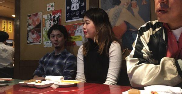 新人・タニタユイの歓迎会@三軒茶屋・次男坊⇒から、まさかの〇〇