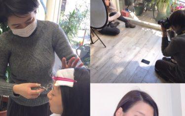 美容師一年目×人生初モデルさんがコラボ撮影した結果