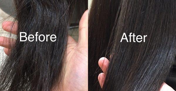 オッジィオットで髪質改善!トリートメントだけでも、髪はこんなにキレイに