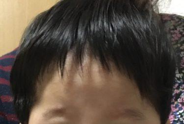 【赤ちゃんカット】生後5ヶ月の子どもの人生初カット