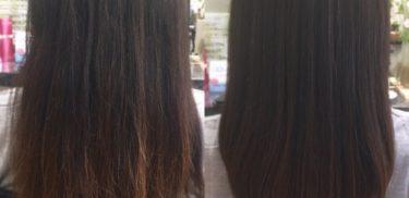 【悩み解決】髪のツヤがない、パサつく、まとまらない方が初めて髪質改善したら。
