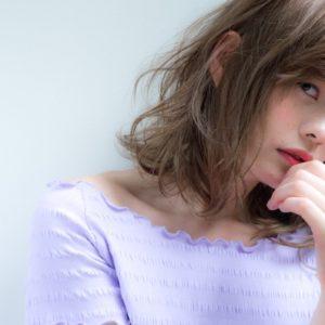 【撮影】ミディアムな髪型でヘアスタイル三変化。