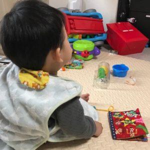 1歳の息子が唯一、静かになる時間。