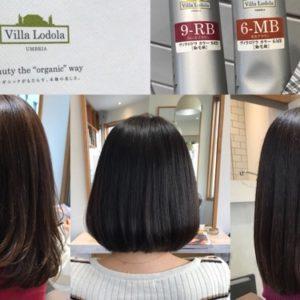 オーガニックカラー「ヴィラロドラ」で頭皮・肌が弱い人に優しく白髪染め@浦和美容室・美容院