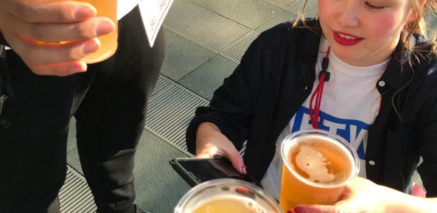 【2018春】スタッフみんなでけやきビール祭り