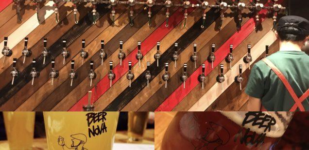 【浦和 ビアノバ】「BEER NOVA URAWA」で最大31種類のクラフトビールを楽しむ